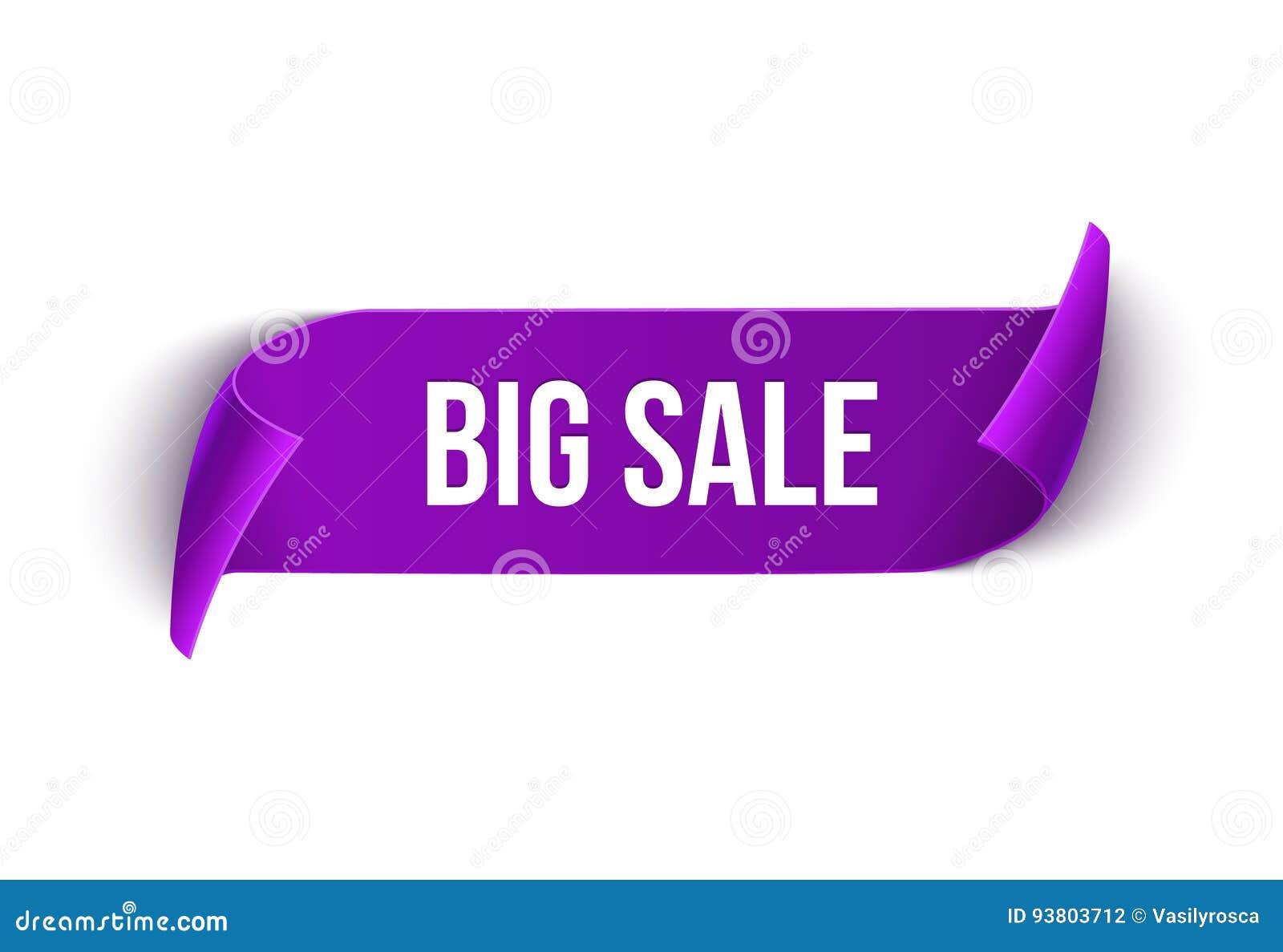 Molde grande do projeto da fita do vetor da venda Etiqueta da venda da bandeira Etiqueta do disconto da oferta especial do mercad