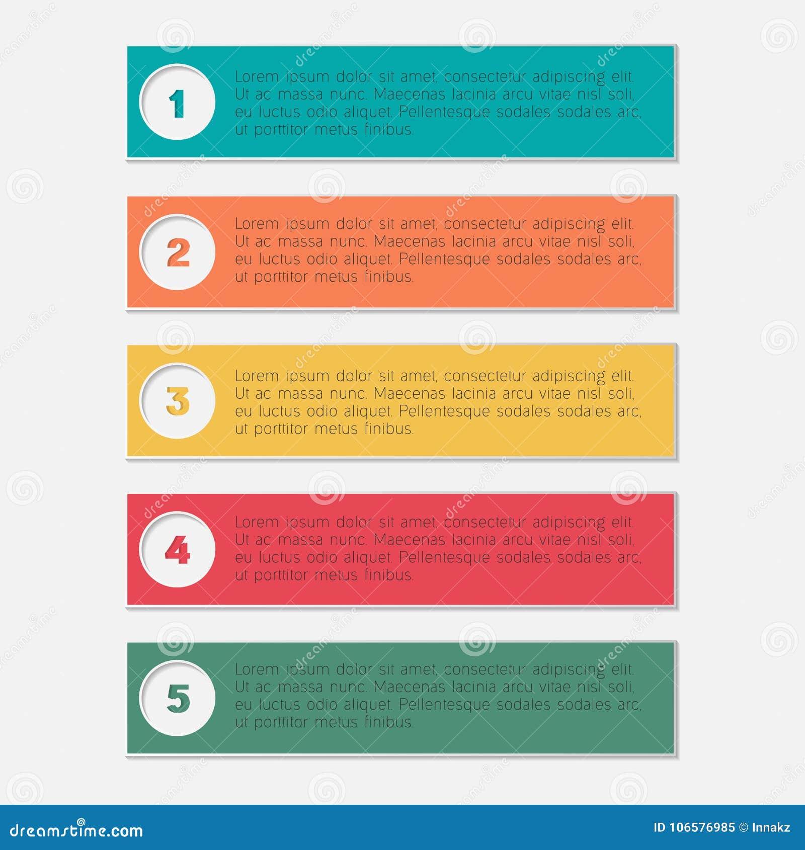 Molde infographic do negócio