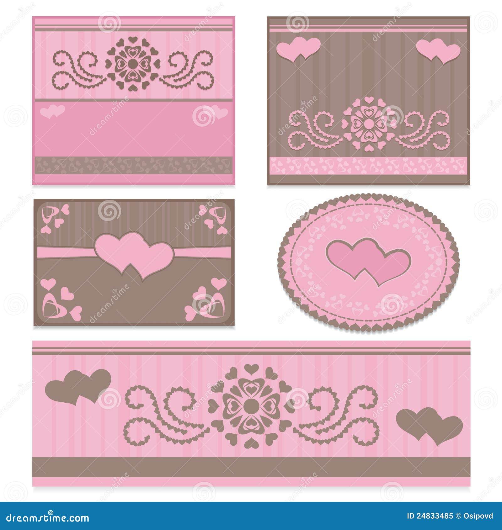 Moldes Para Convites Do Casamento Foto de Stock Royalty Free Imagem  #A62550 1300 1390