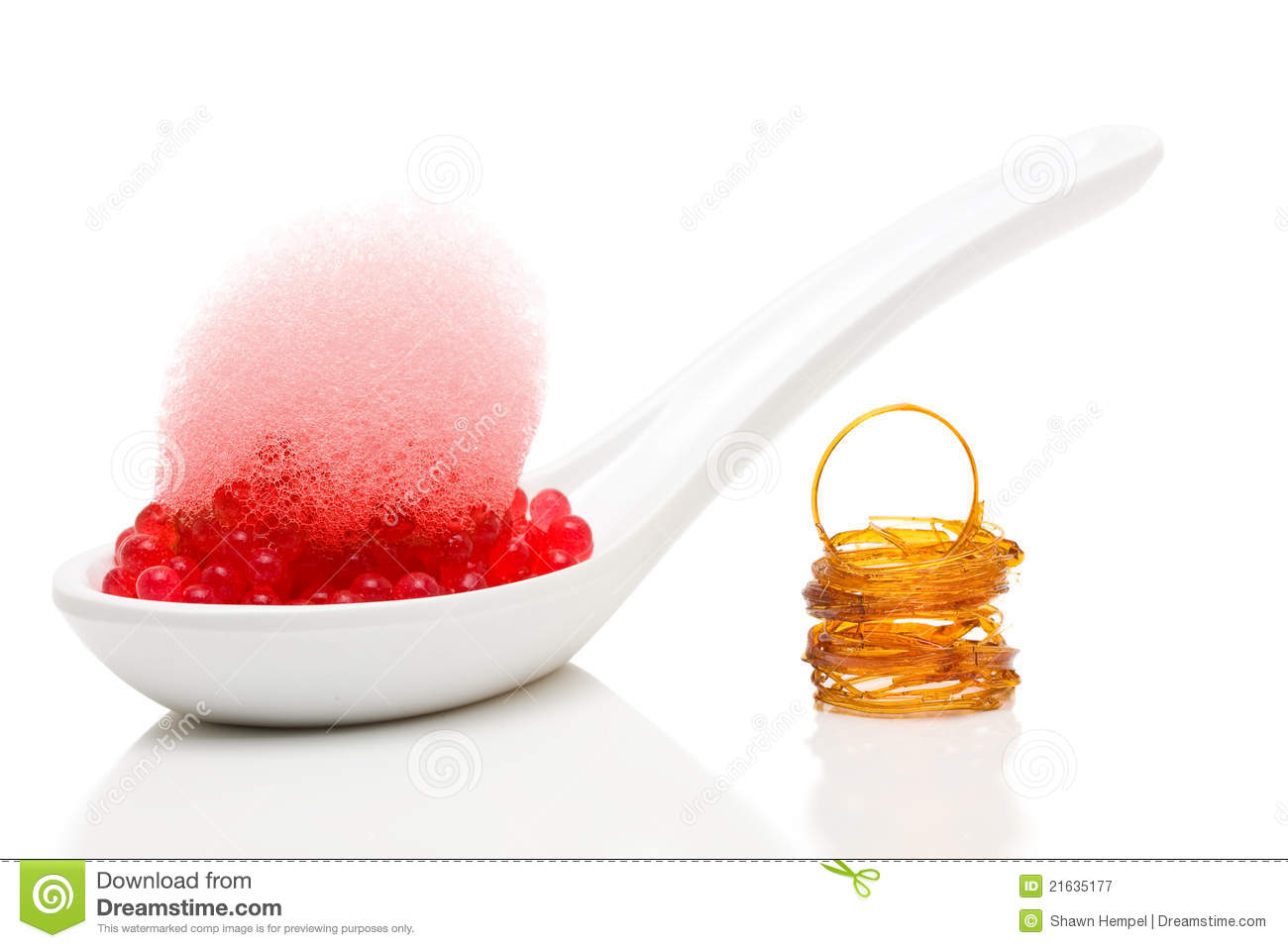 Molecular Gastronomy Dessert Royalty Free Stock Photography - Image ...