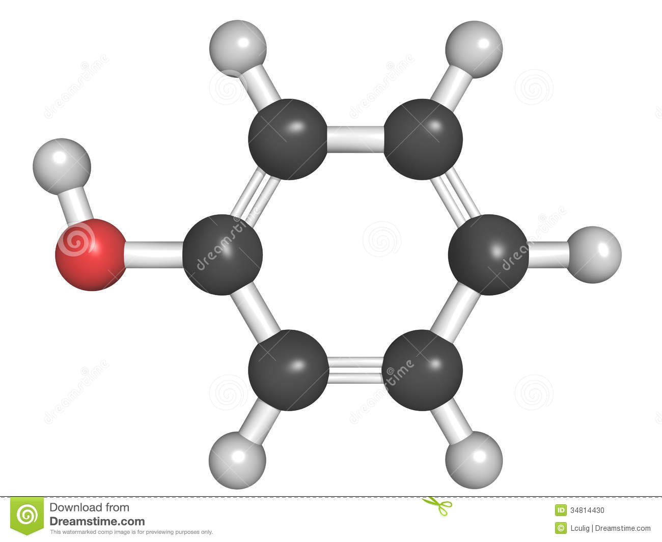 Ionic Compound Model Molecular model...
