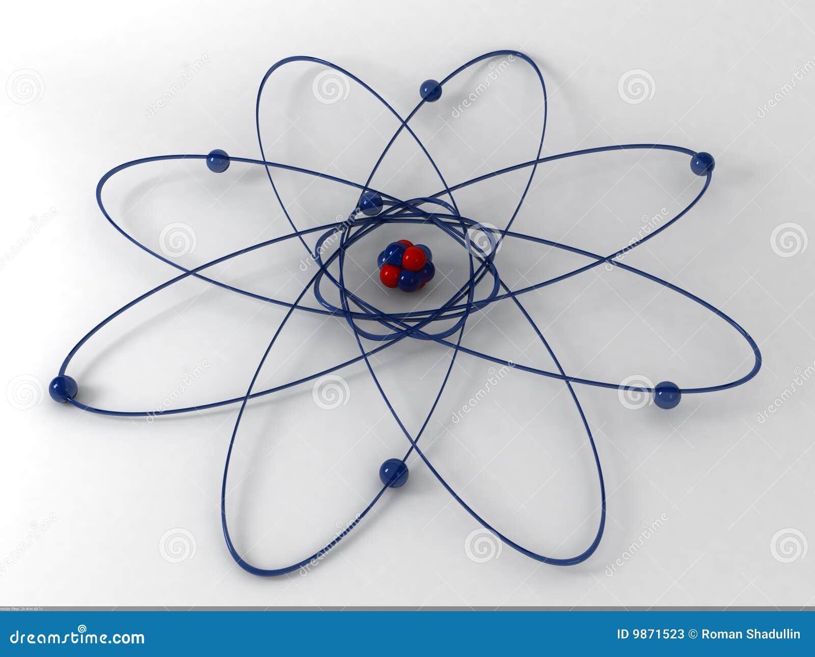 Download Molecule 3d stock illustration. Illustration of metal - 9871523