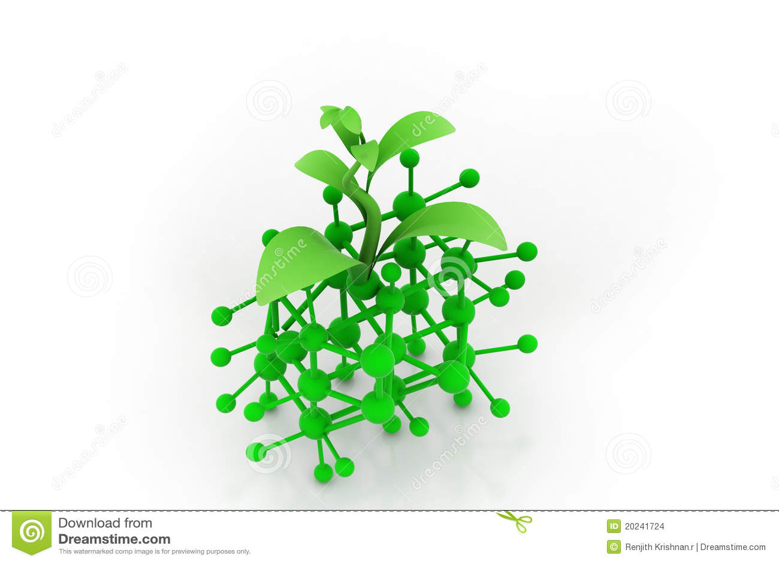 Molecule en spruit