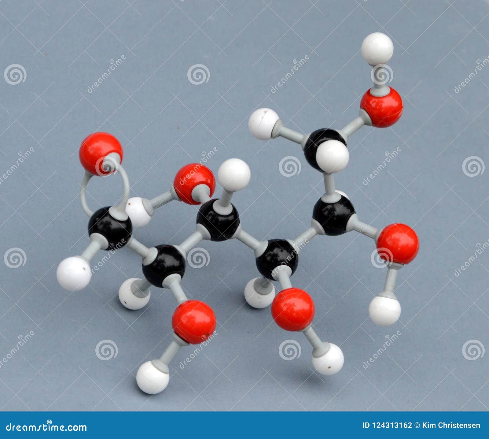 Monosaccaride molecule model