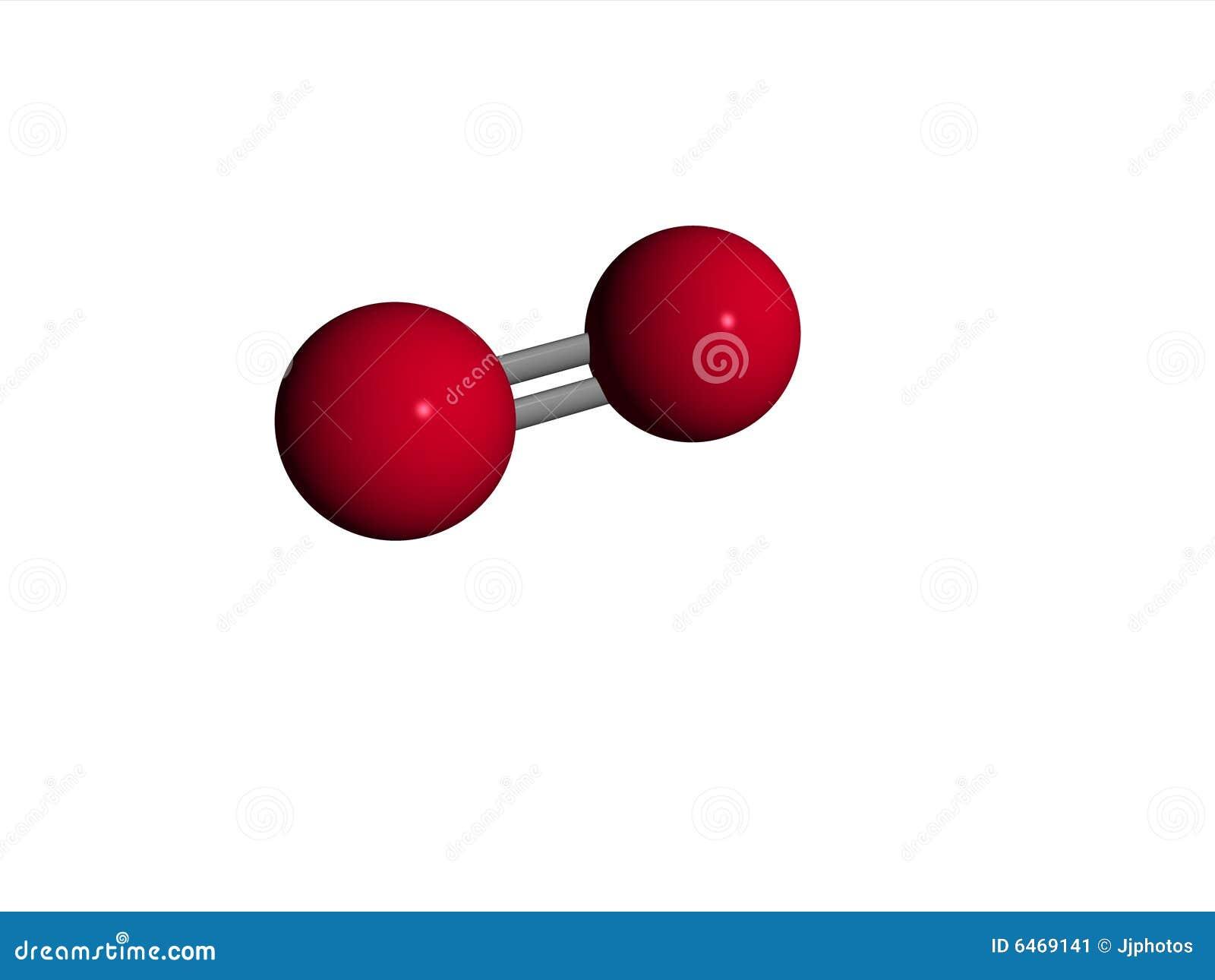 the oxygen  O2  molecule   O2 Molecule