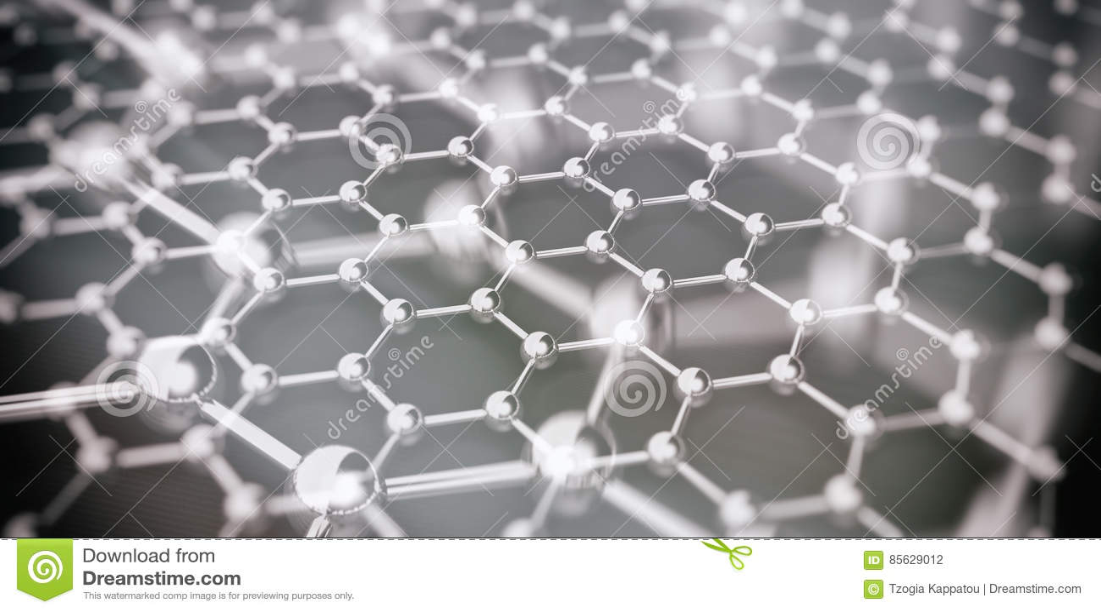 Molekuły łączyć ilustracja 3 d