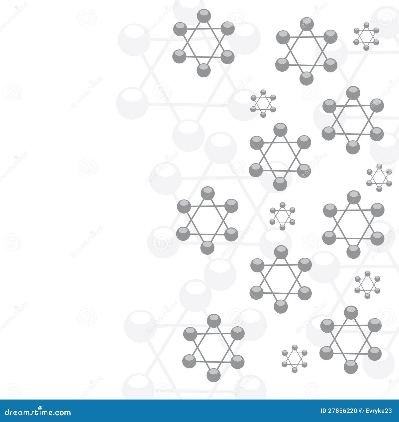 Molekuły tło