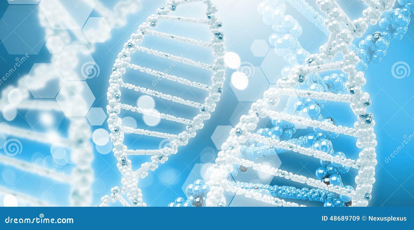 Molekyl av DNA:t