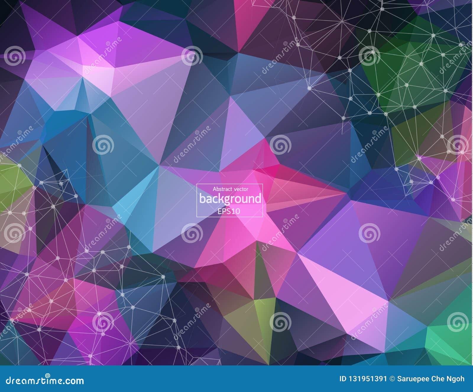 Molekylstrukturdna och kommunikationsbakgrund Förbindelselinjer med prickar Begrepp av vetenskapen, anslutning, kemi som är bio