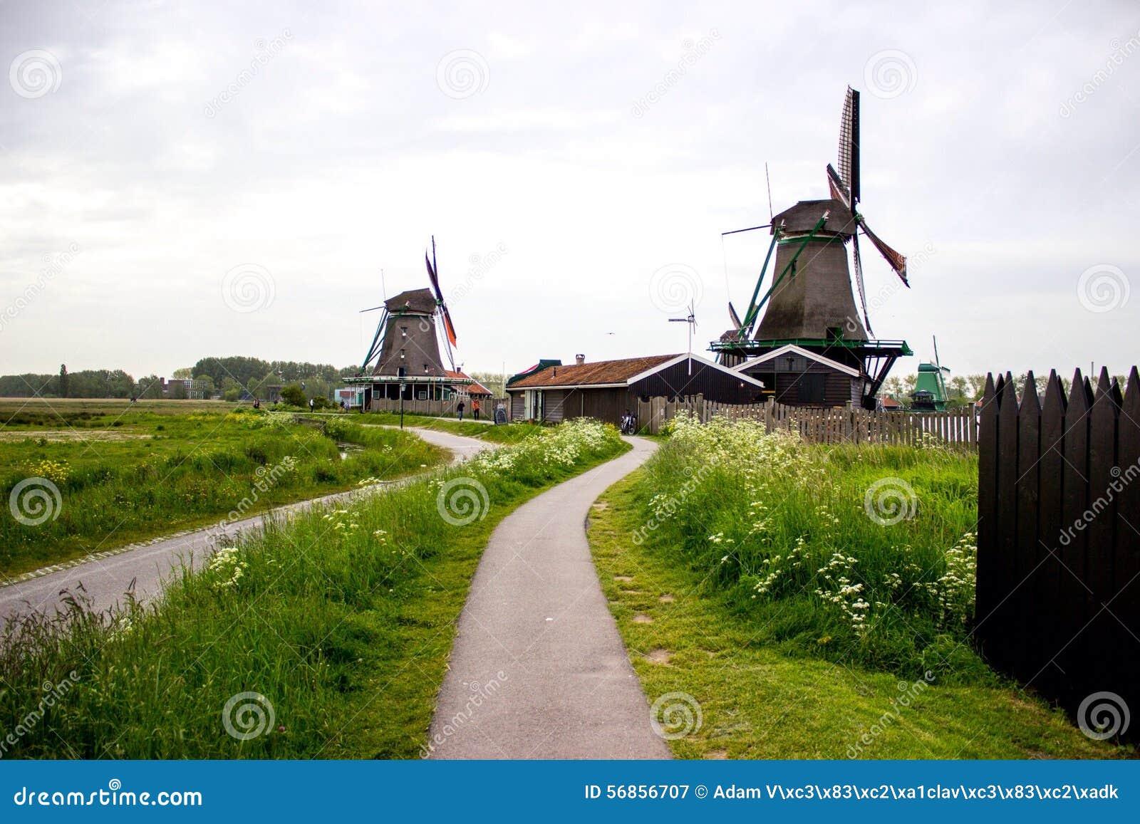 Molens in Zaandam