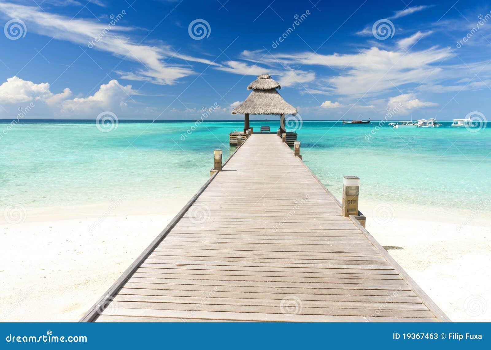 Molhe nos Maldives