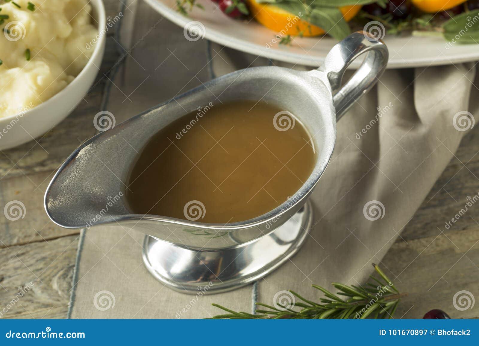 Molho orgânico quente de Brown Turquia