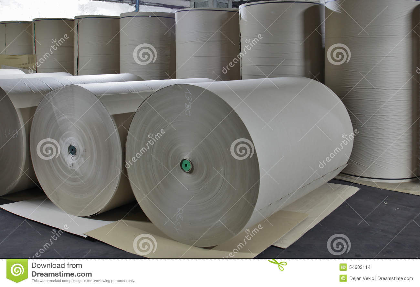 Molino de papel - papel