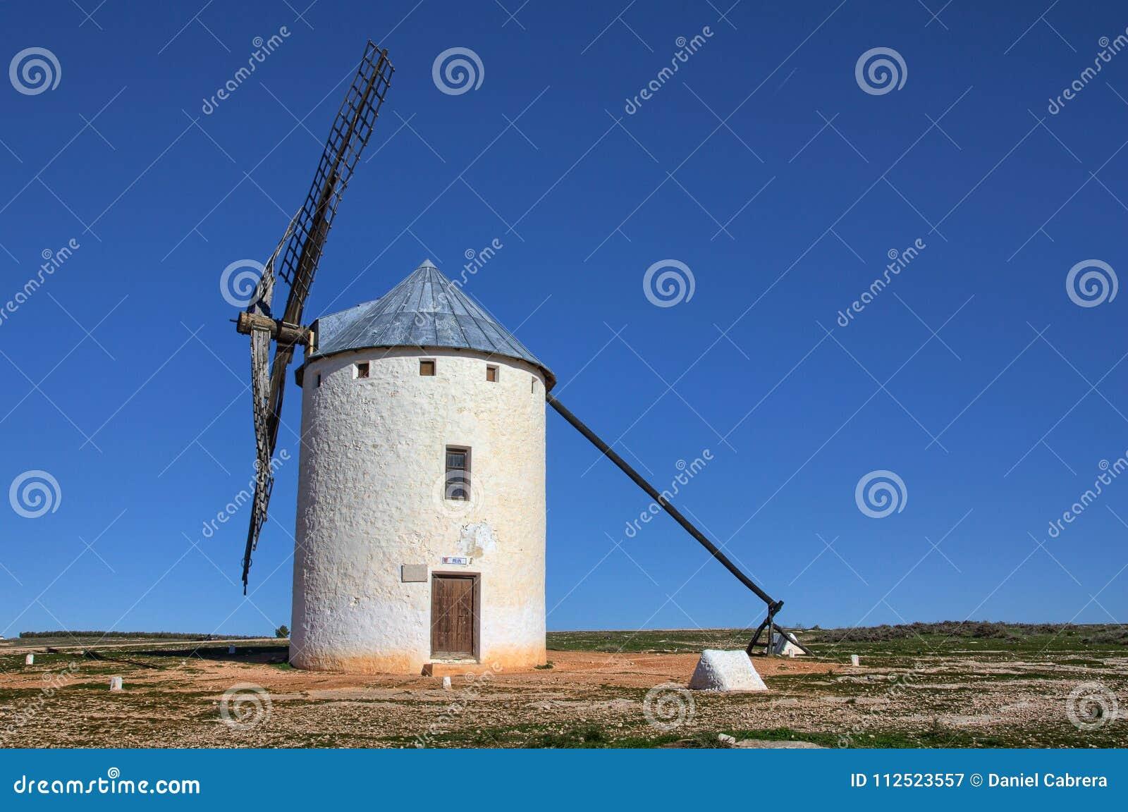Molino de viento - Campo de Criptana España
