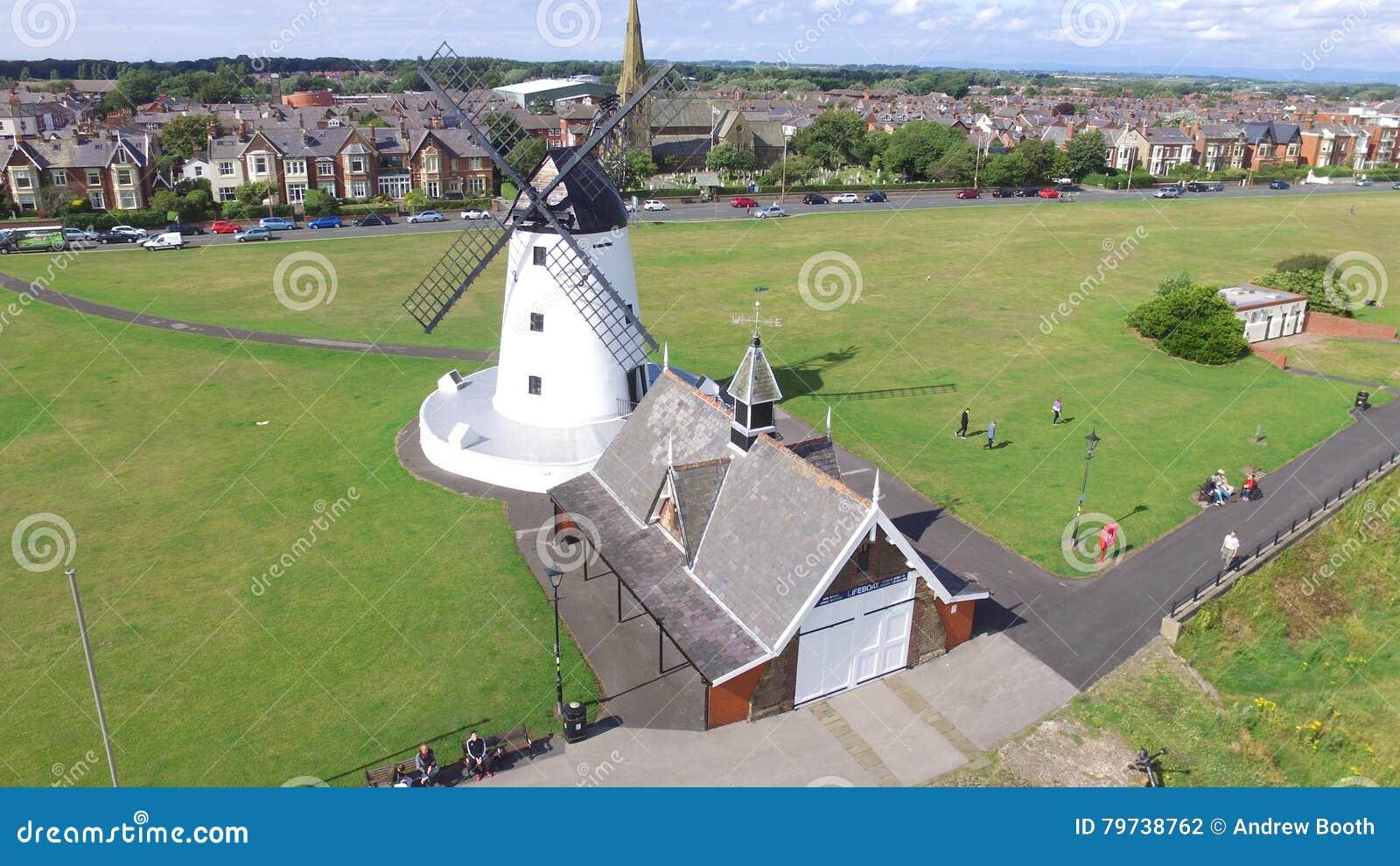 Molino de viento en Lytham