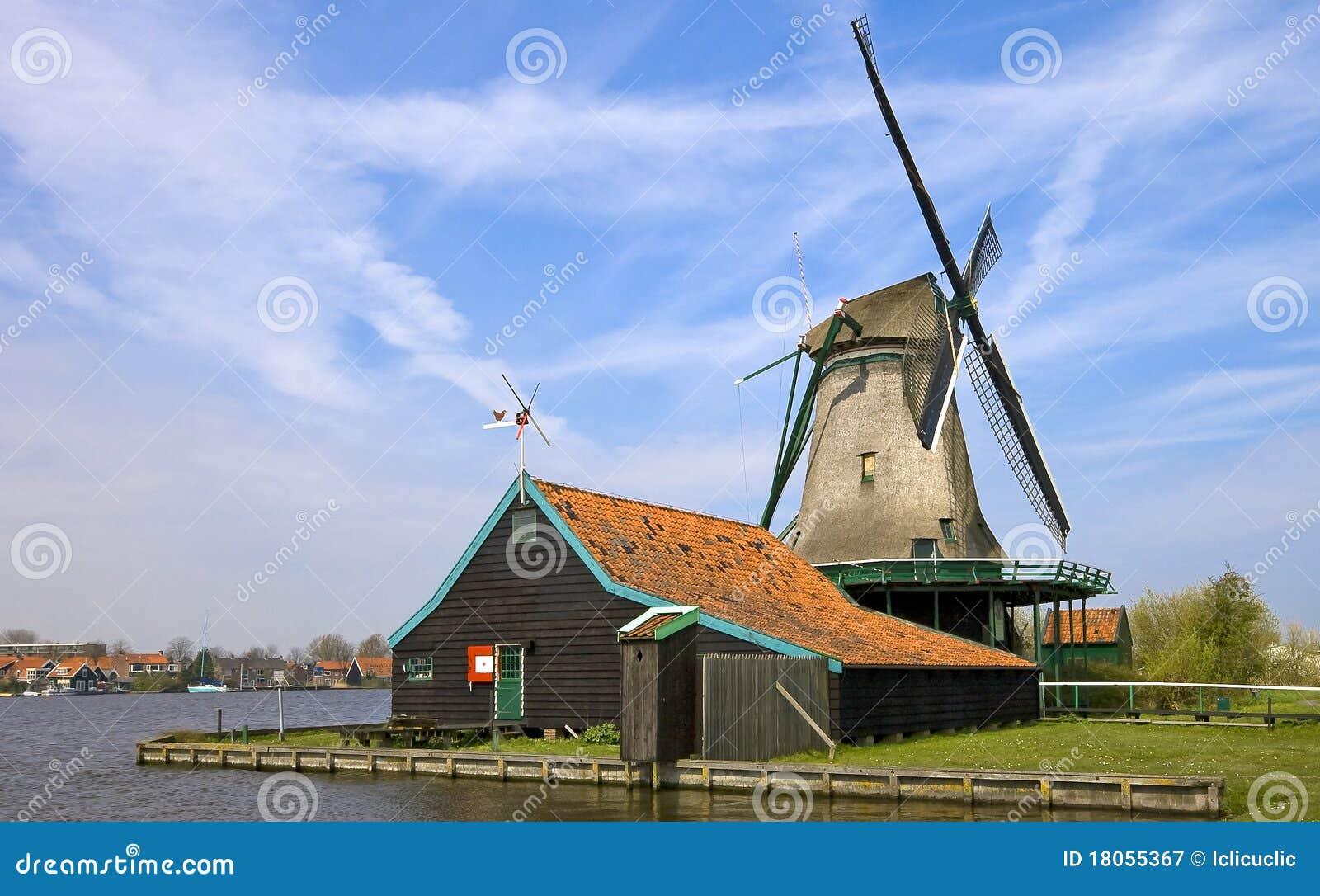 Molino de viento Holanda