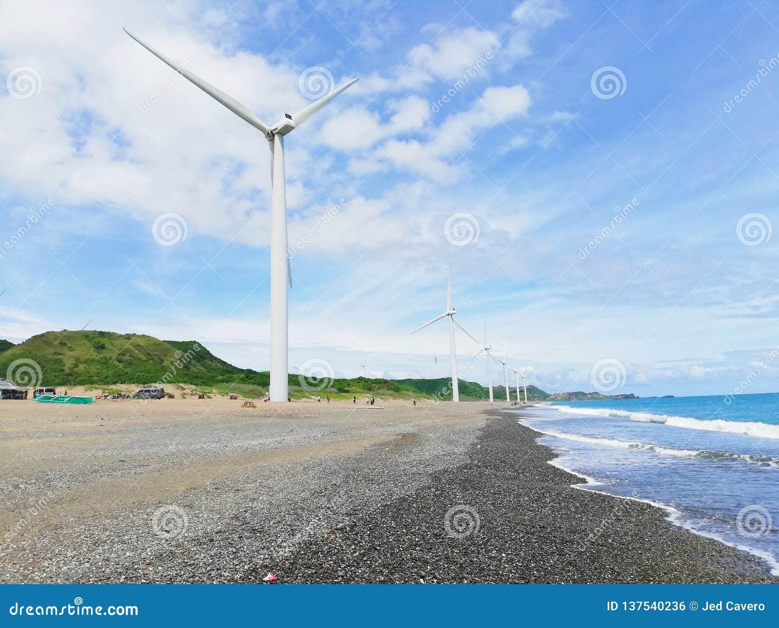 Molinoes de viento de Bangui