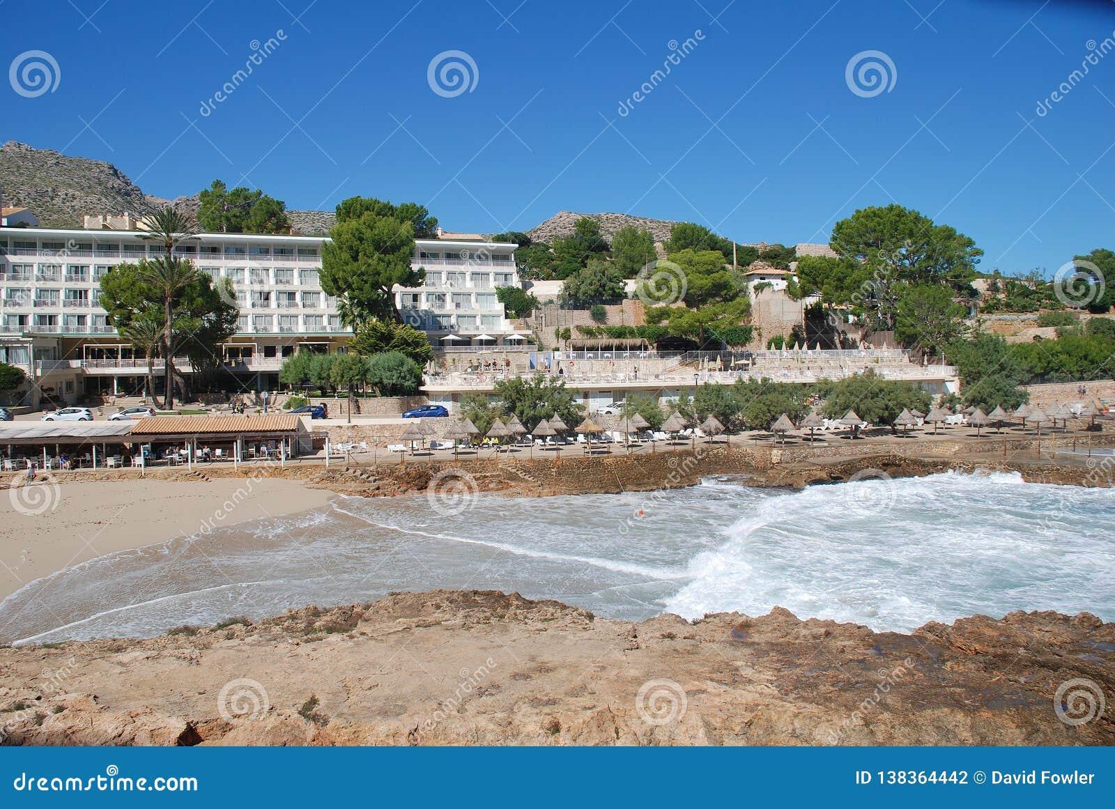 Molins plaża, Majorca
