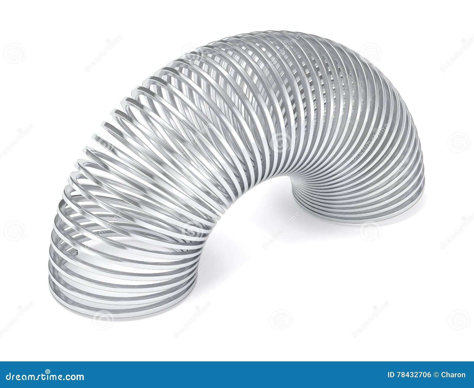 Molla sexy d argento isolata