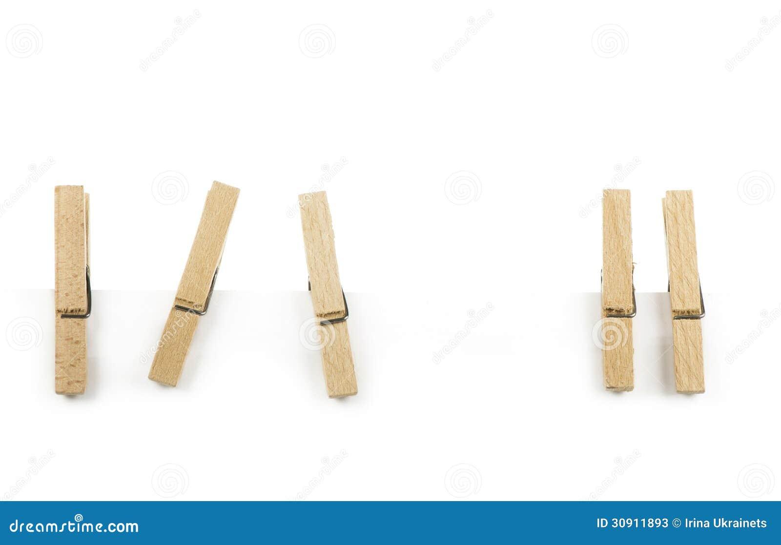 Popolare Molletta Da Bucato Di Legno Immagine Stock - Immagine: 30911893 IS77