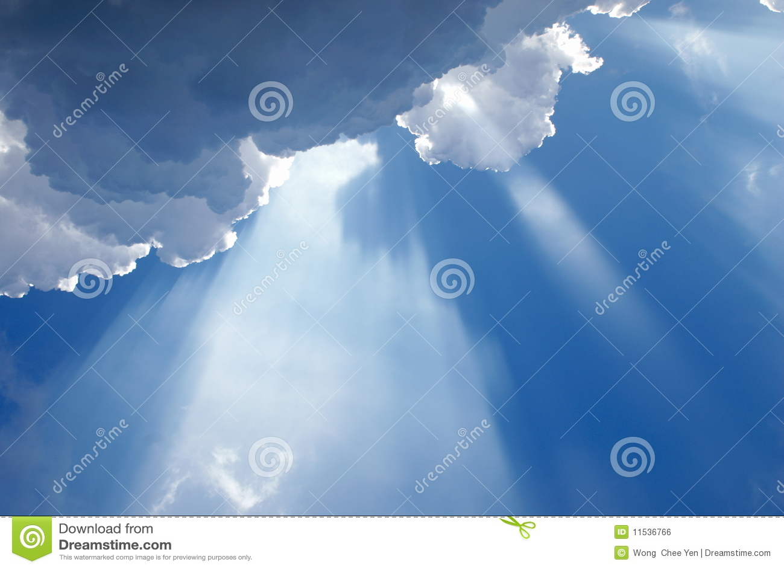 Molnig heavenly inspirera lampa