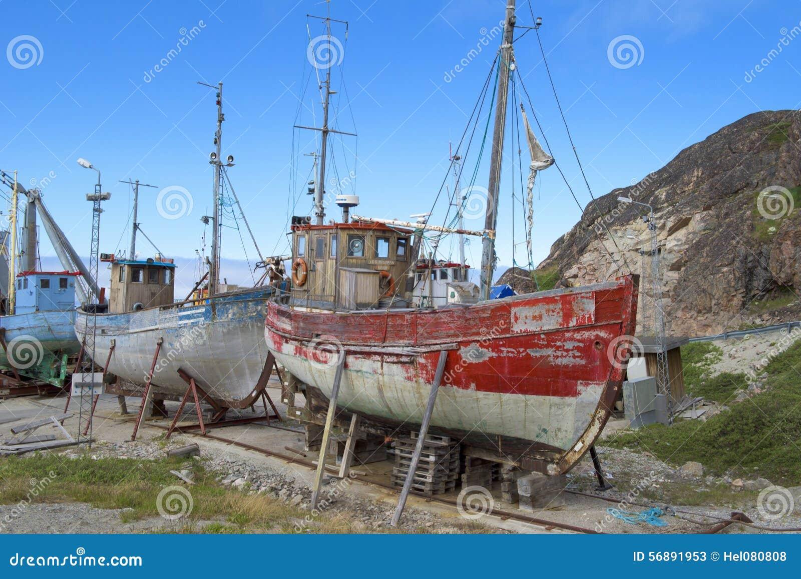 Molo per le vecchie barche