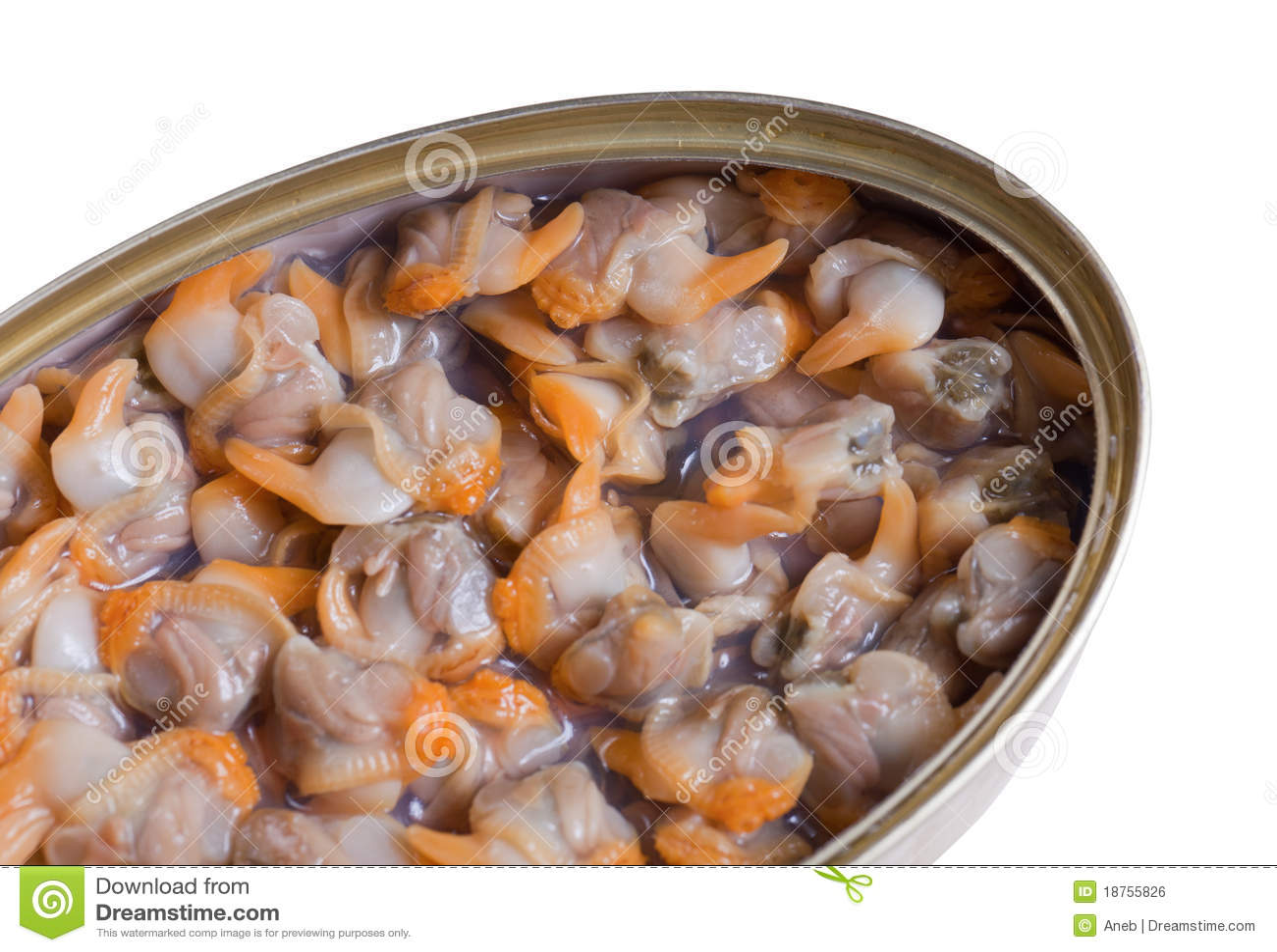 Moluscos enlatados