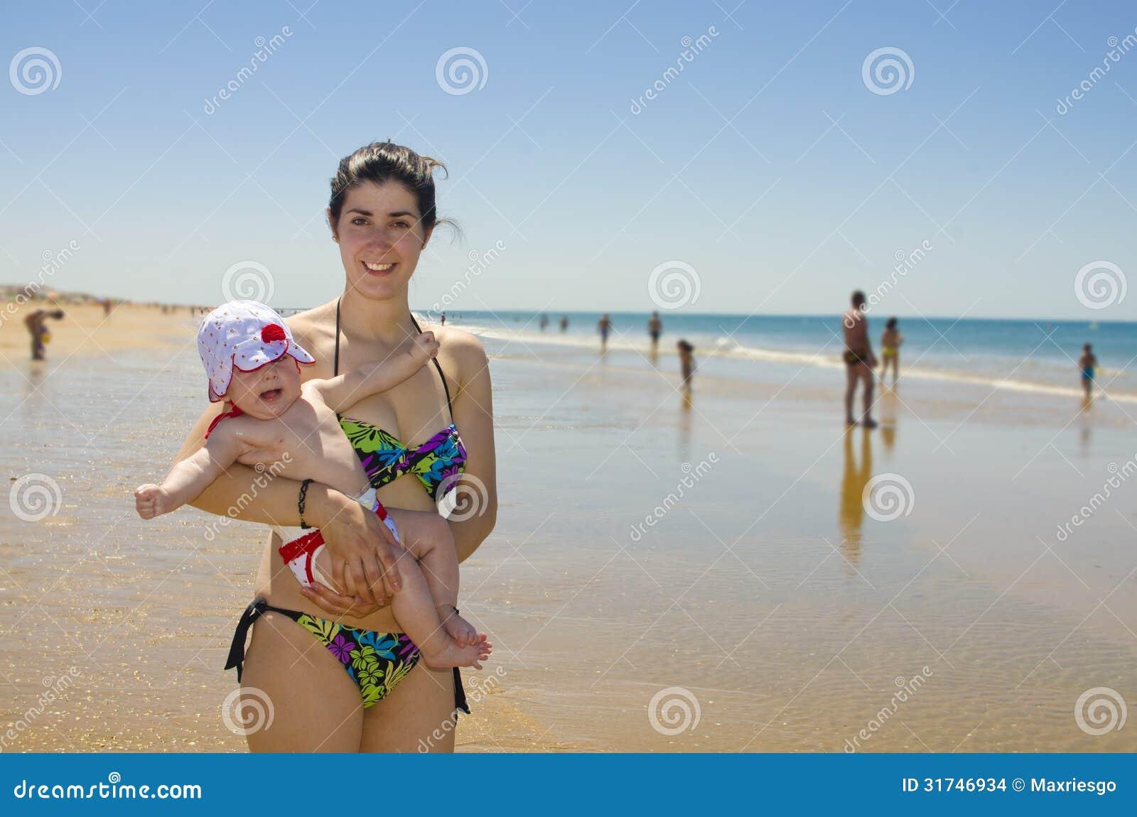 Mom beach 3d images 93