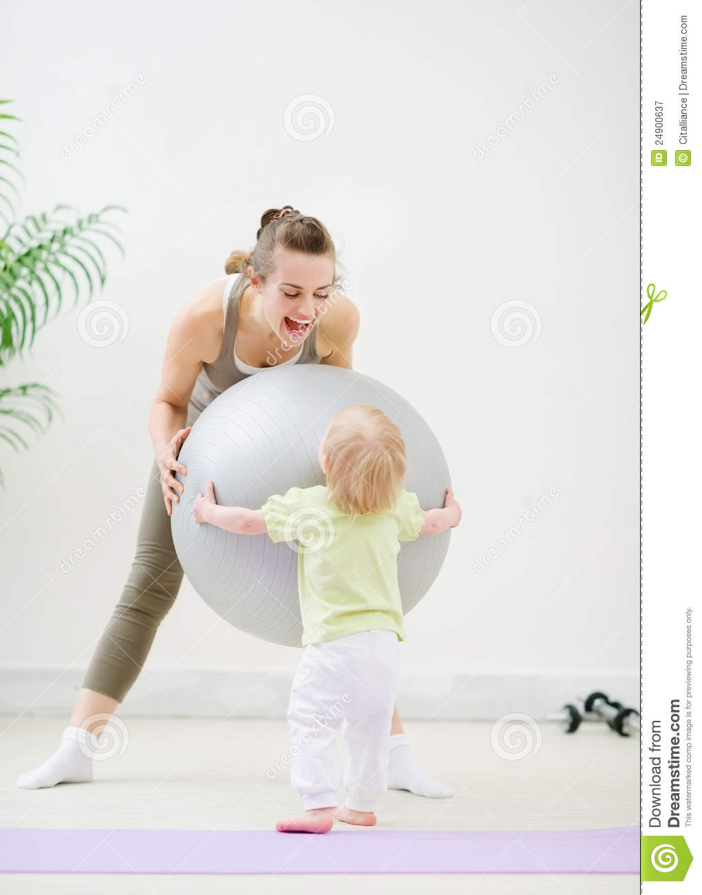 Mommy and baby fitness langley