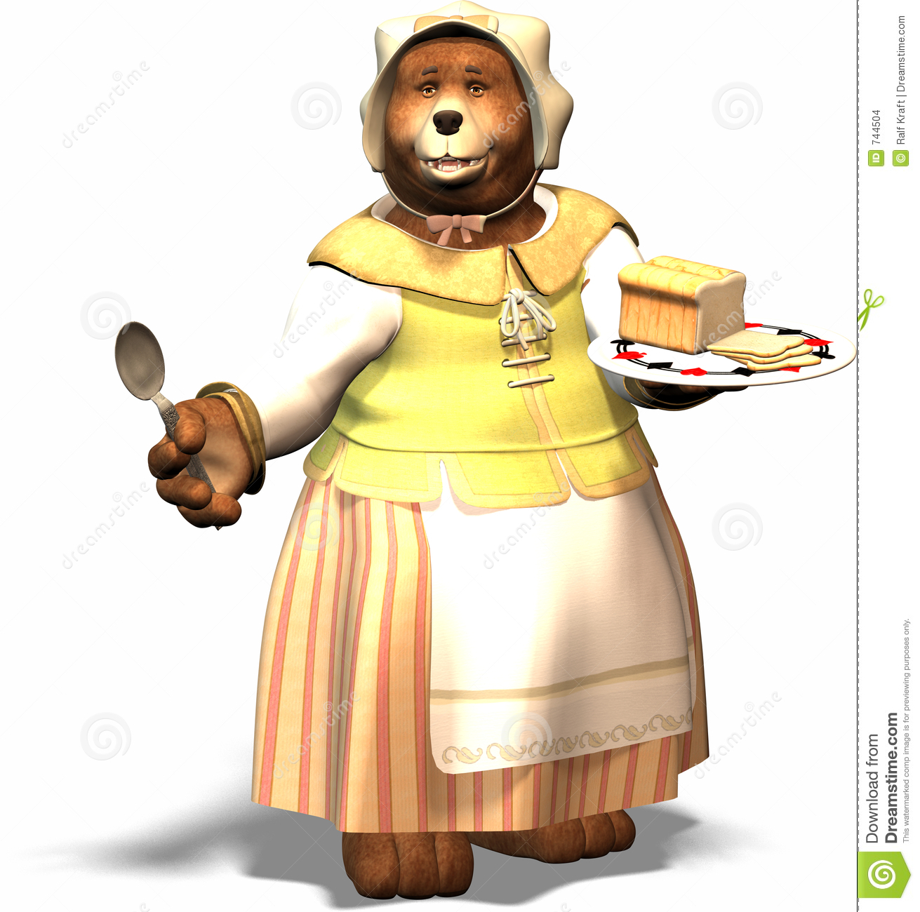 Mom Bear Stock Images - Image: 744504