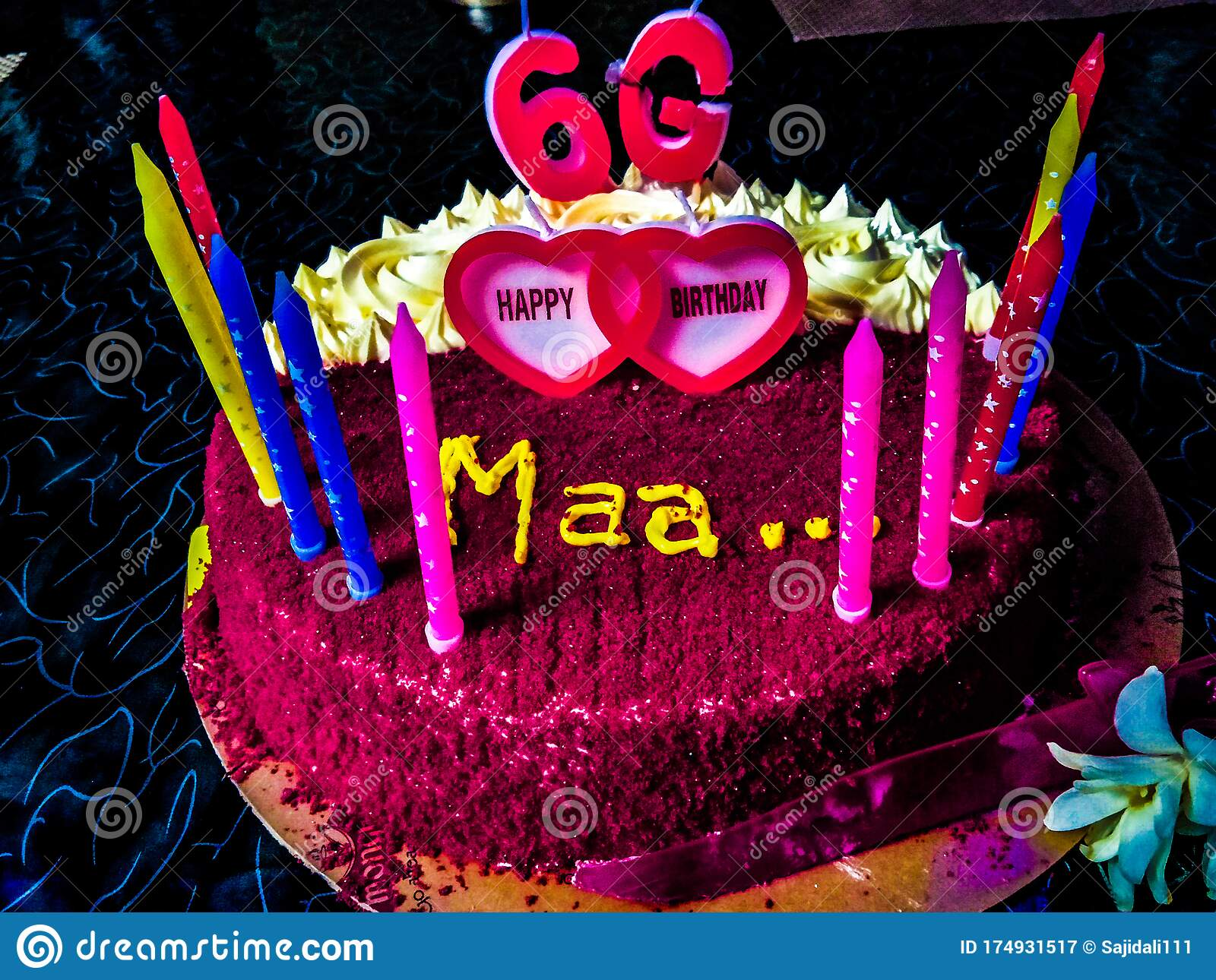 Super Mom Birthday Cake Stock Image Image Of Foodtime Foodpictures Funny Birthday Cards Online Alyptdamsfinfo