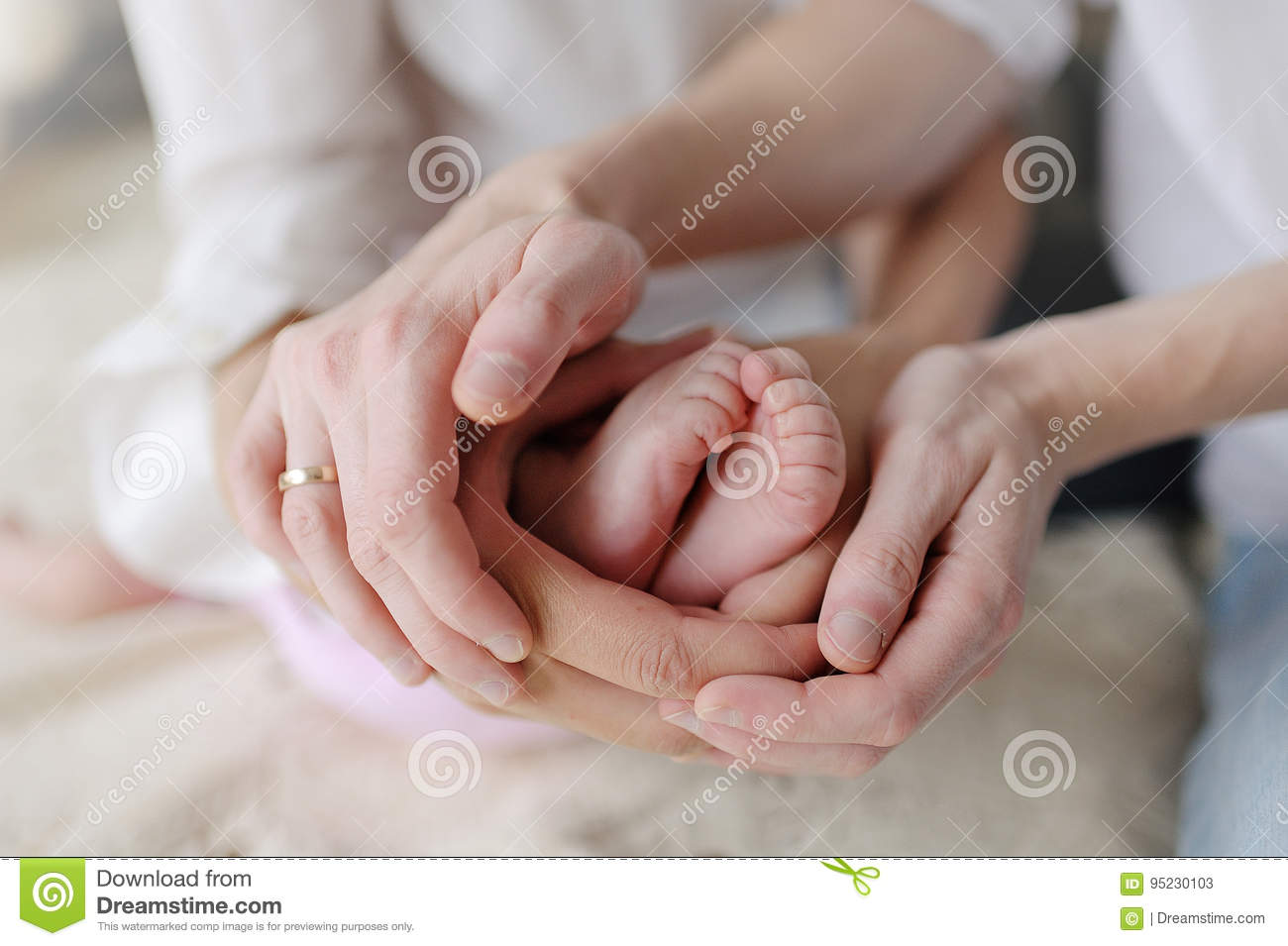 Mom Dad Hands Baby Stock Images Download 2293 Royalty Free Photos