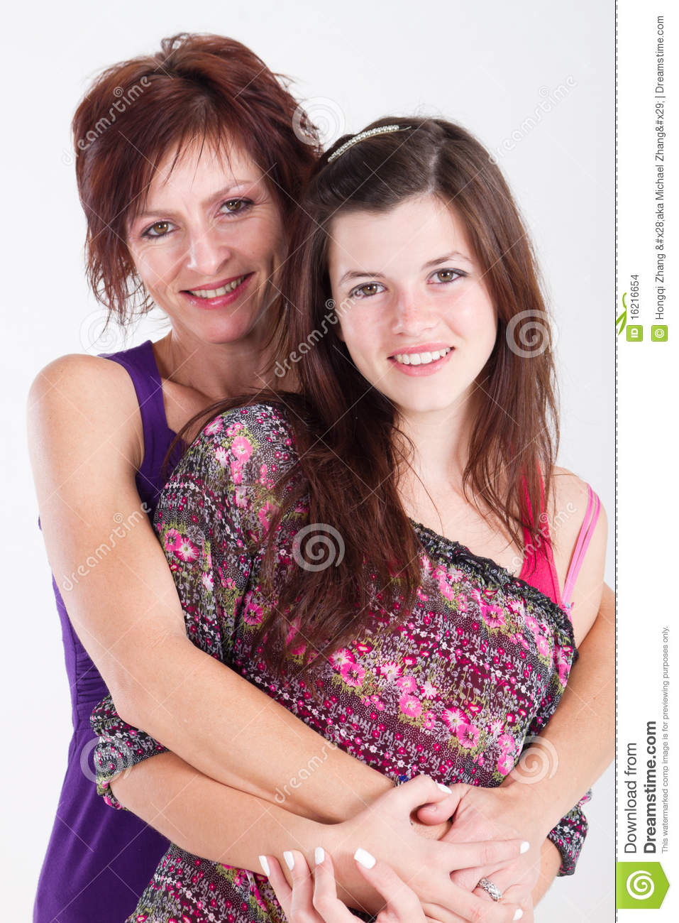 Mom And Daughter Bedroom Ideas: Mom Daughter Stock Images