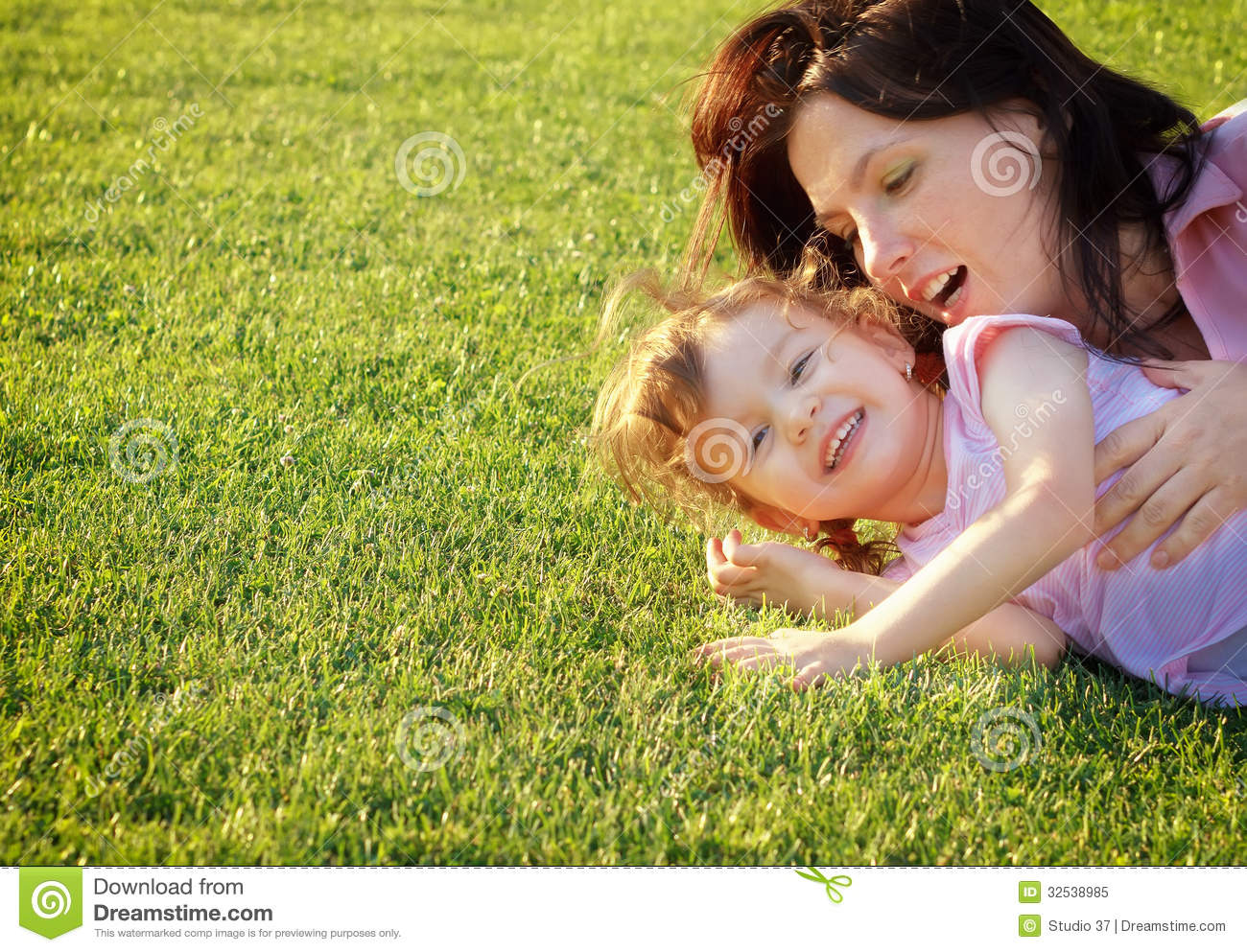 Mother and daughter having fun-3954