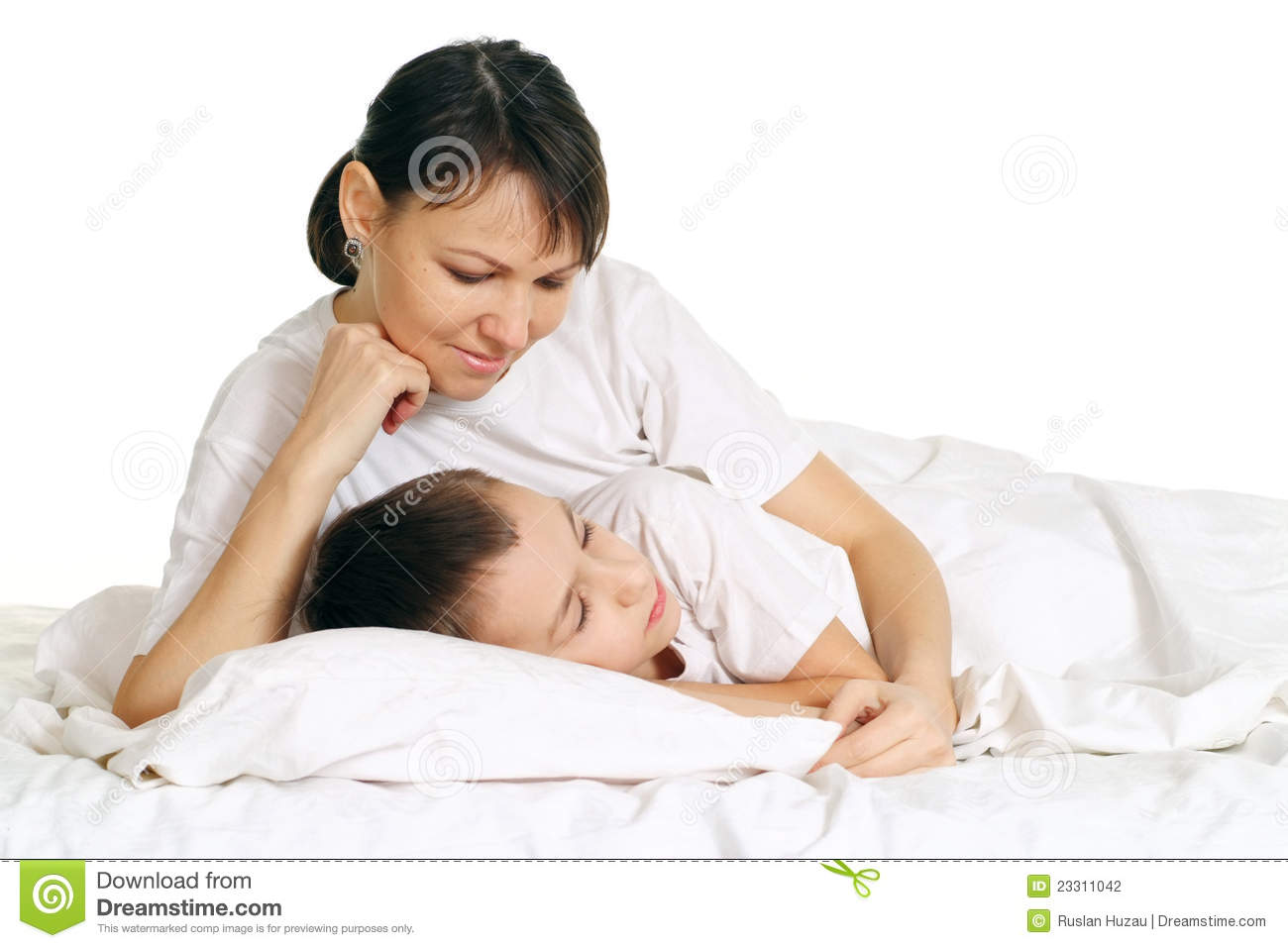 Son fucking sleeping mom