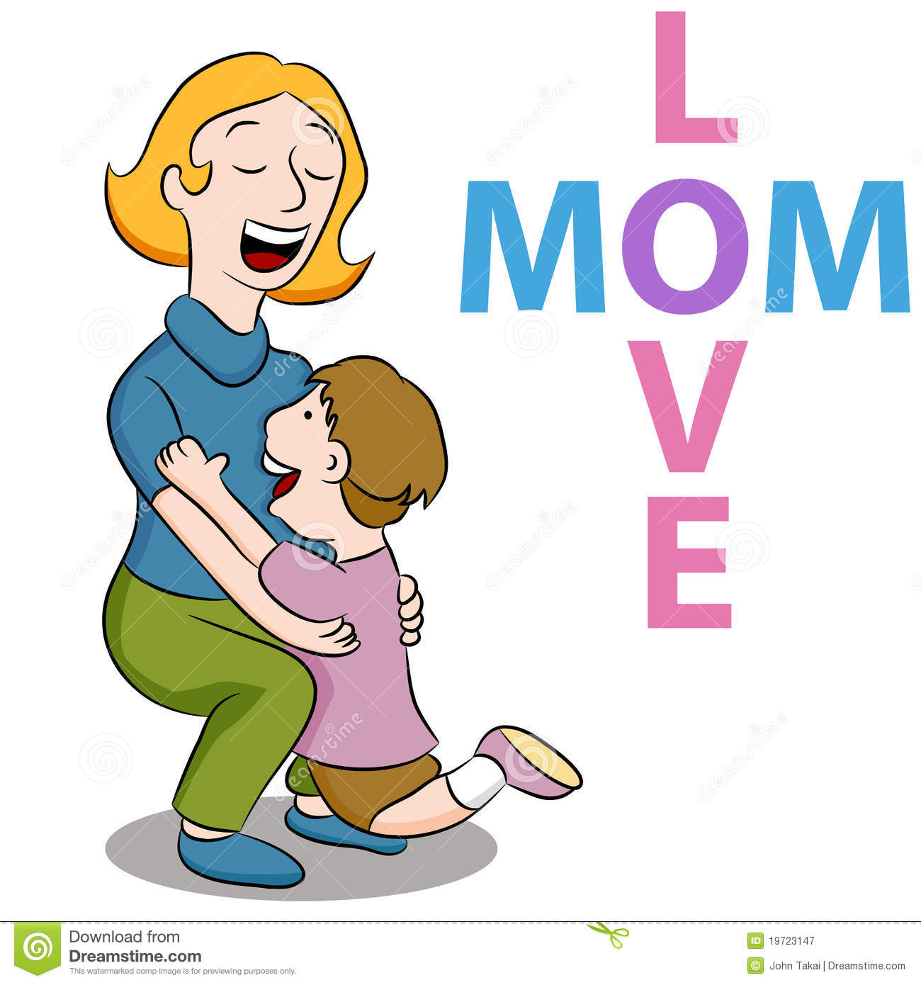 Mom Love Son Royalty Free Stock Photography Image 19723147