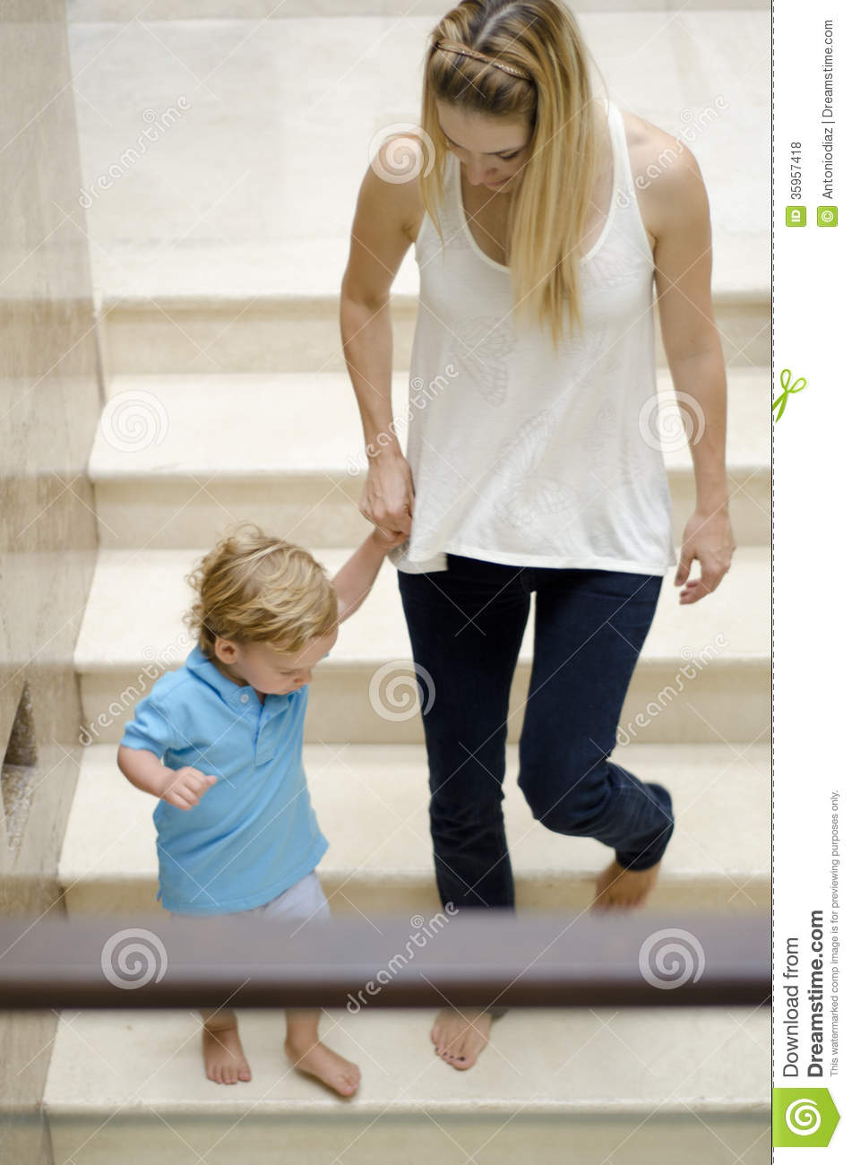 mom and son spending time together stock photo image of pretty