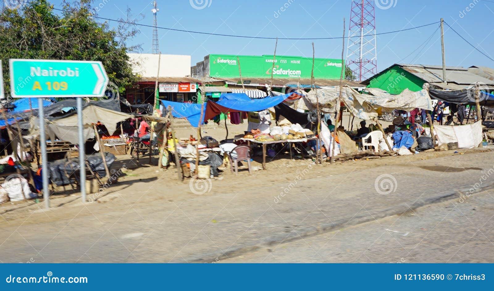 Mombasa, Kenya, Circa June 2018 - Typical Streetlife In ...