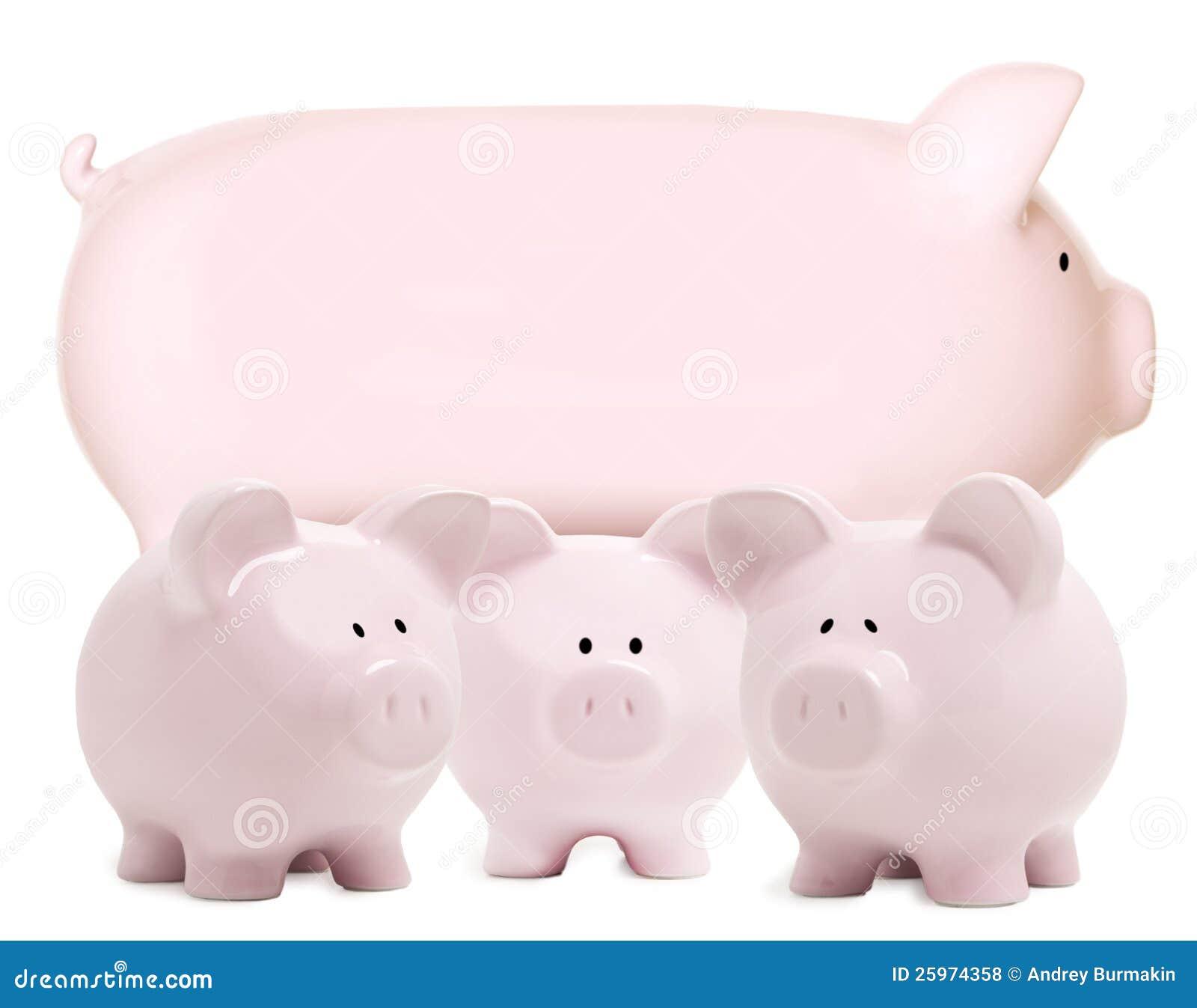 Momma piggy bank