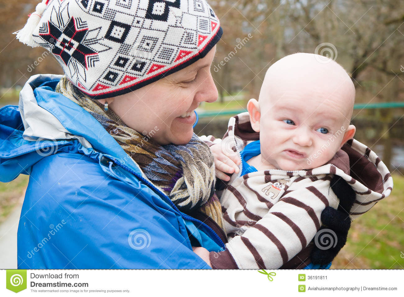 Mommy And Cranky Baby Stock Image Image Of Family