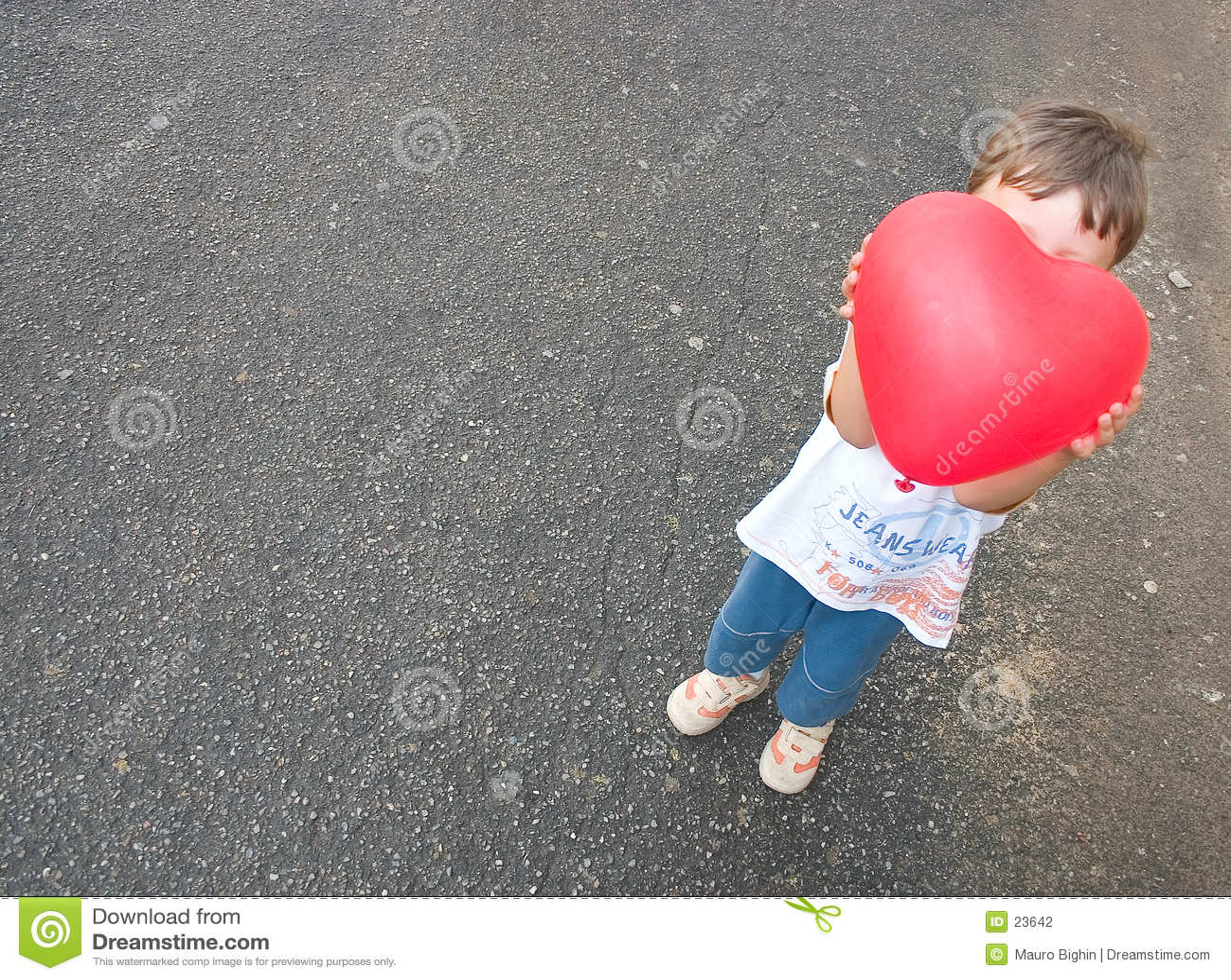 Mon coeur de petit enfant