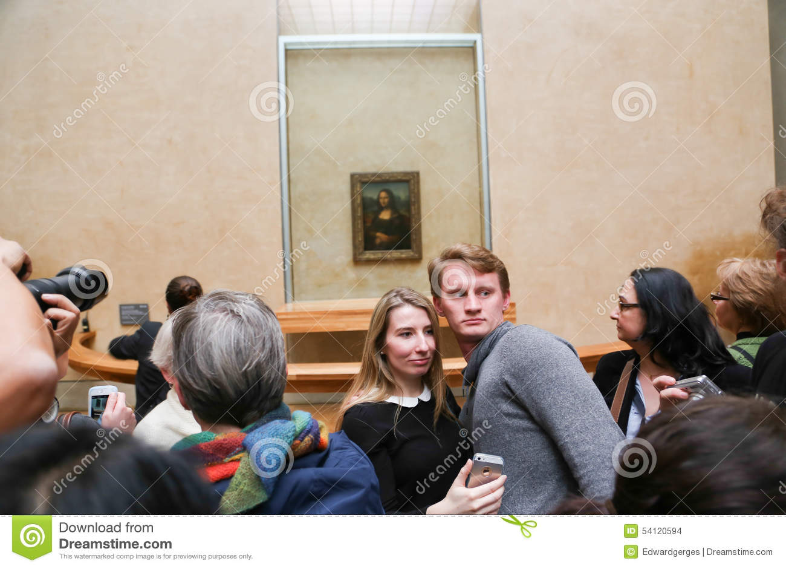 Mona Lisa - Louvre-Museum, Paris