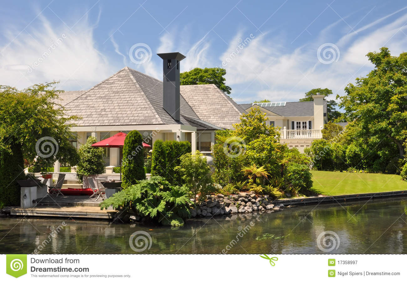 Mona vale beautiful house garden christchurch stock House garden pics