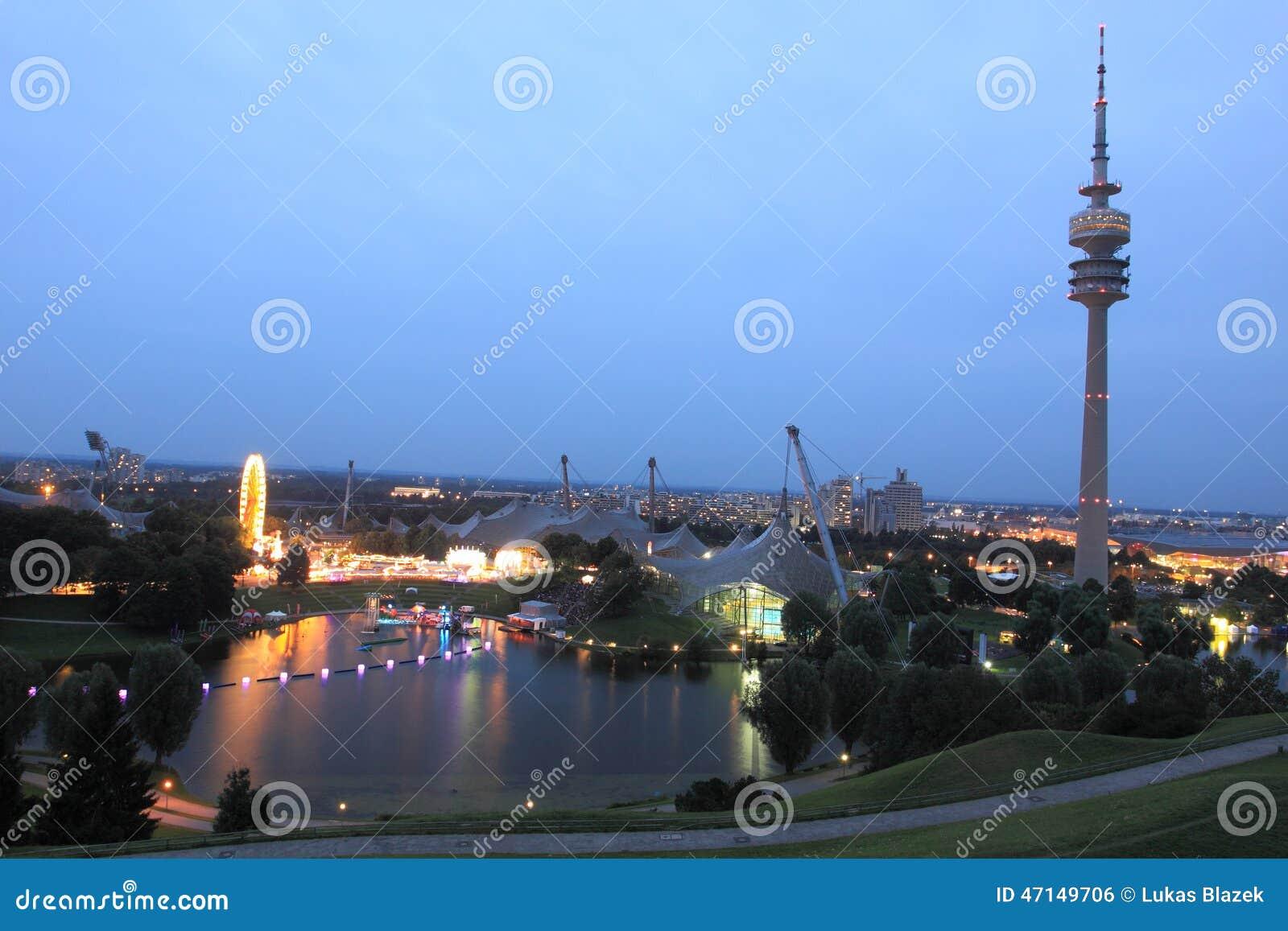 Monachium - Olimpijski park