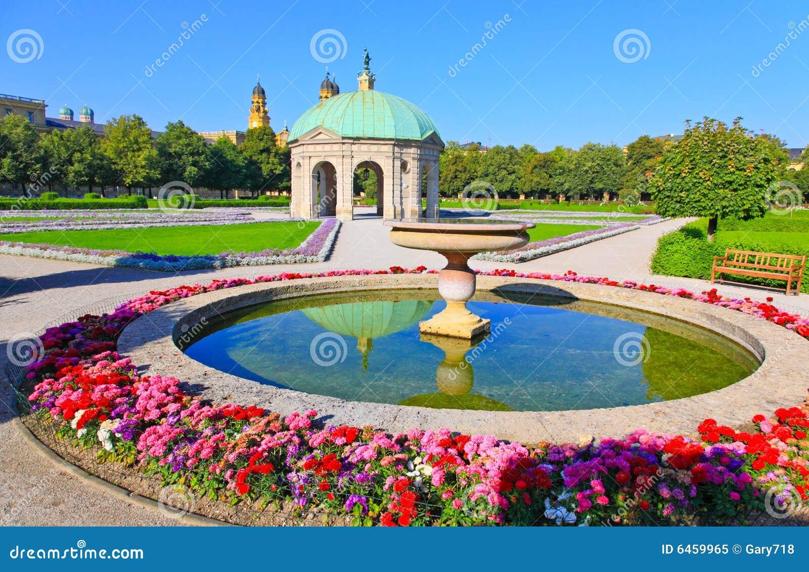 Monachium residenz otoczenia