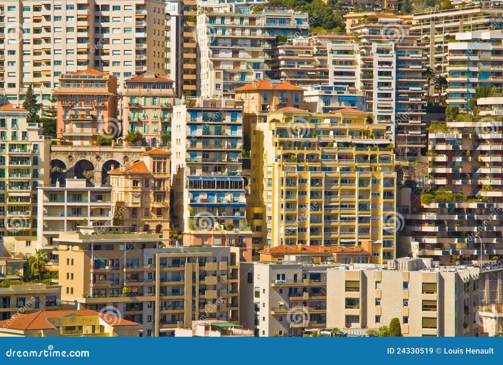 Monaco Apartment Buildings Stock Image Image Of Buildings