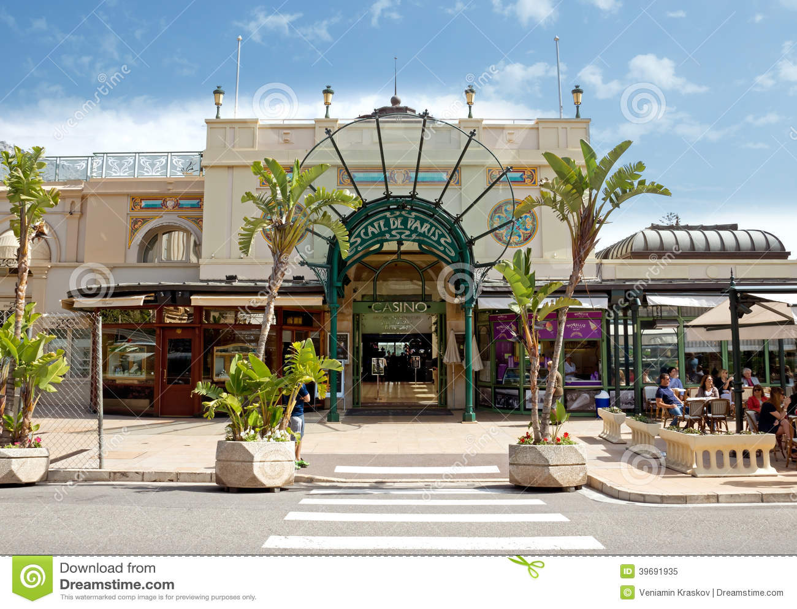 Cafe De Paris Restaurant Monte Carlo