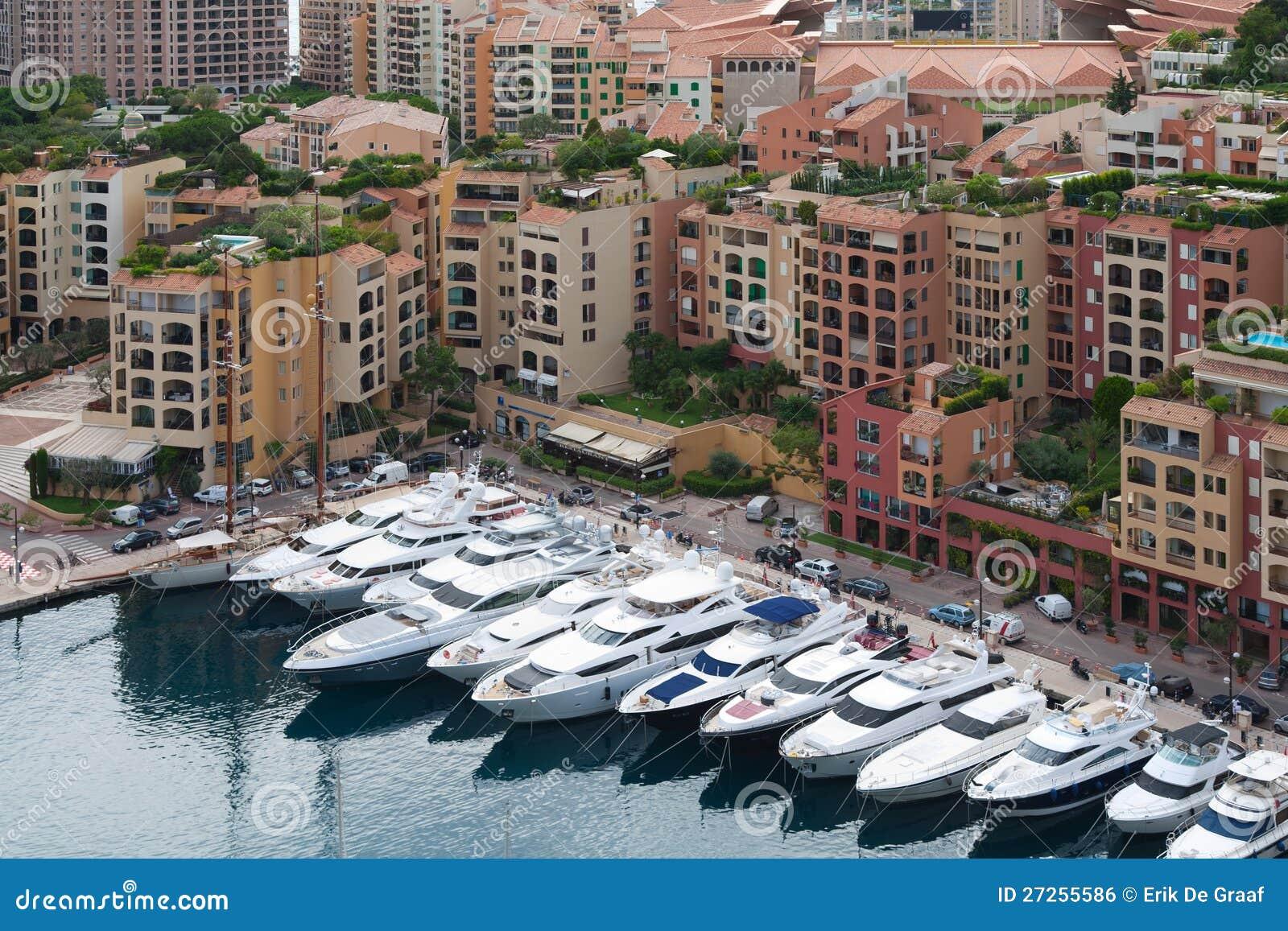 Monaco cityscape
