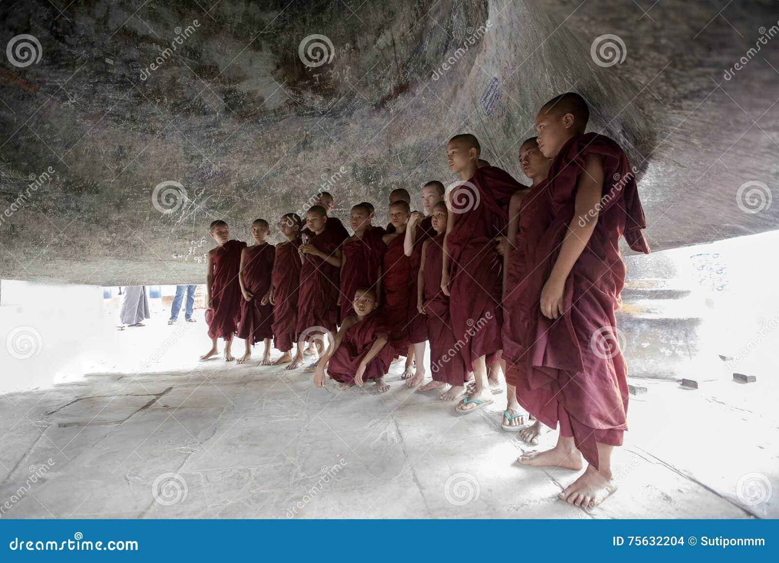 Monaco dei principianti della Birmania