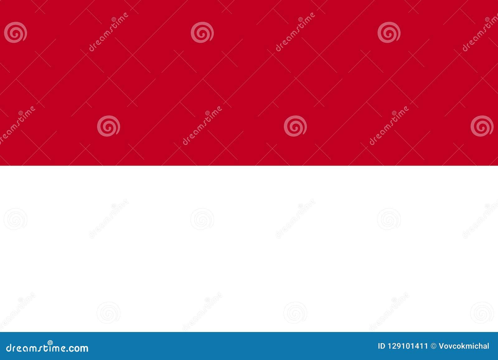 Monaco flagga